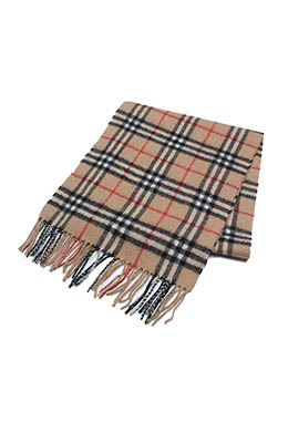 BURBERRY PATTERN SCARF