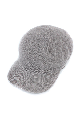 KNIT NEWSBOY CAP