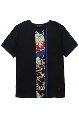 PATCHWORKED TRADITIONAL TEE