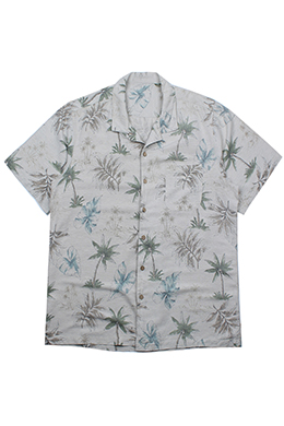 PALM LEAVES PRINTED SHIRT