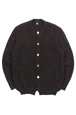 BROWN WOOL JUMPER