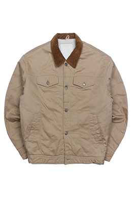 BROWN TRUCKER JACKET
