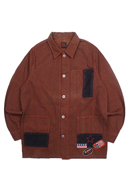 PATCHED HICKORY JACKET
