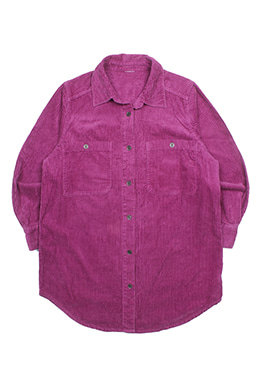 TWO-POCKET CORDUROY SHIRT