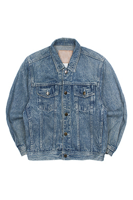 STONE WASHED TRUCKER JACKET